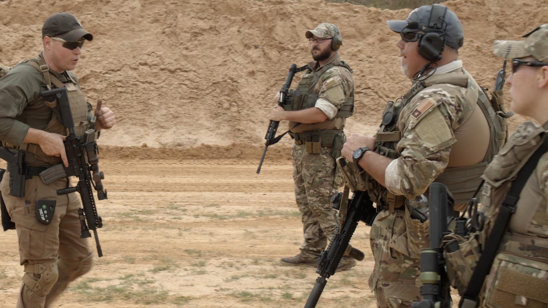 Combat Rifle Basic Training